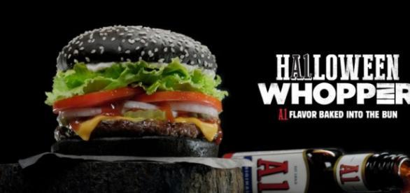 """So sieht der schwarze """"Whopper"""" aus, Foto: PR"""