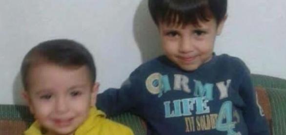Tragedia migratoria. Aylan Kurdi y su hermano