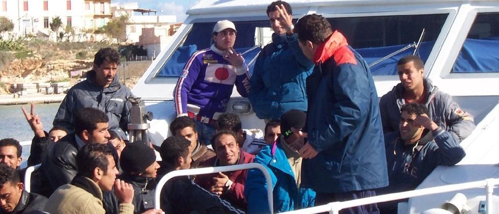 Un'equa ripartizione dei migranti per fronteggiare l'emergenza