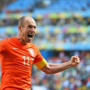 Arjen Robben jest kapitanem reprezentacji Holandii