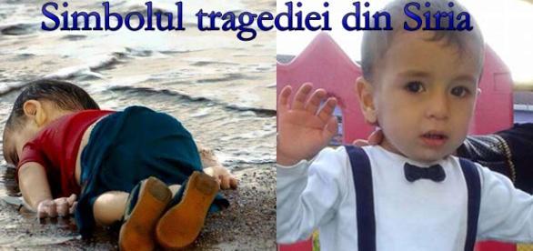 Micuţul Aylan devenit simbolul tragediei din Siria