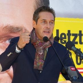 Christian Strache atacă SUA pentru criza actuală