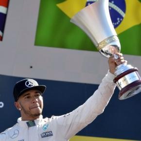 Lewis Hamilton, GP Monza Italia.