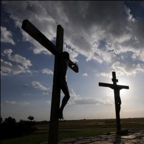 Niesienie krzyża pańskiego jako symbol edukacji?