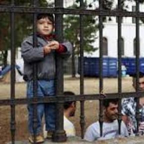 Uchodźcy syryjscy w ośrodku w Austrii
