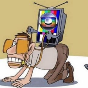 Charge sobre Globo - Imagem: Google