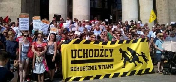 Demonstracje proimigranckie również w Polsce