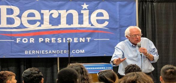 Bernie Sanders - photo by Phil Roeder, flikr CC2.0