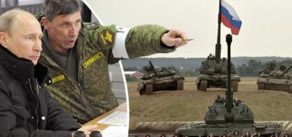Desfasurari de trupe ale Rusiei in Europa