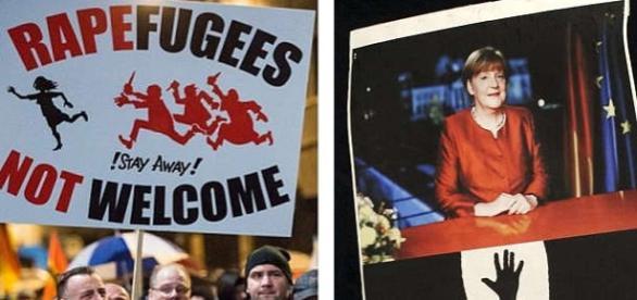 Proteste de stradă în Leipzig contra refugiaţilor
