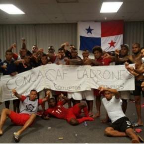 Manta de Panamá en Copa Oro. Crédito foto: Twitter