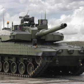Tancul Altay din dotarea Forţelor Armate Turceşti