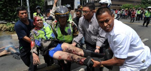 Indonesia bombings and gun Attack