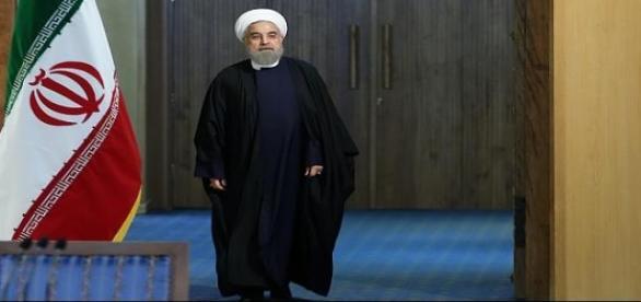 Prezydent Iranu Hasan Rouhani.