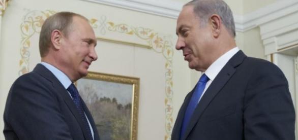 Vladimir Putin si prim-ministrul israelian