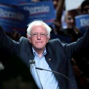 Democratic candidate Bernie Sanders (Wikipedia)