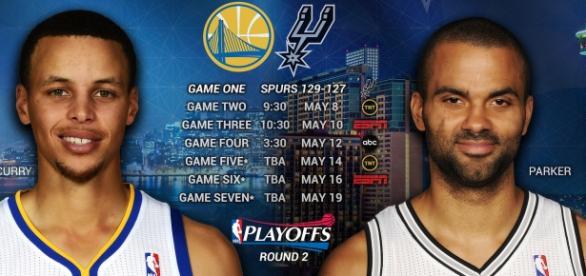 Warriors meet the Spurs in Oakland