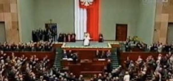 Św. Jan Paweł II w polskim Sejmie