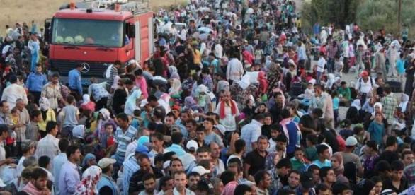 Val de imigranți în Germania în 2015