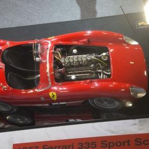 La star de Retromobile : Ferrari 335 Sport !
