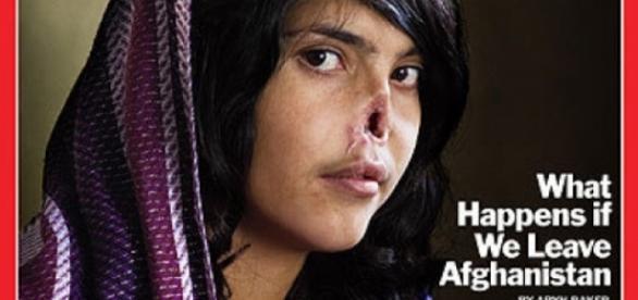 I-a tăiat nasul soției, apoi a fugit de autorități