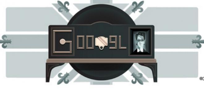 Primeira demonstração de televisão celebrada com Doodle da Google