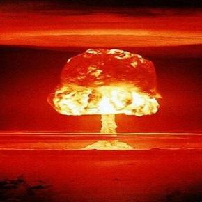 Explozia cutremuratoare a unei bombe nucleare