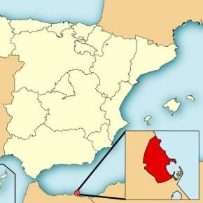 Melilla, North Africa (Wikipedia)