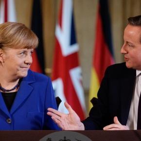 Merkel și David Cameron pun la cale măsuri stricte