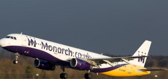 Airbus 321 leaving Manchester, UK.