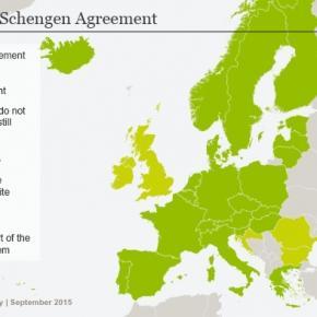 Spațiul fără frontiere-Schengen
