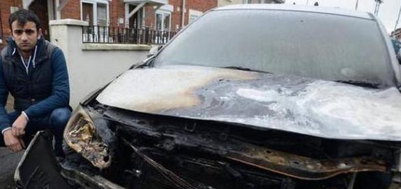 Atac rasist în Belfast, Irlanda de Nord