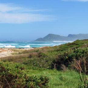 Scarborough scene near Cape Town. By J Flowers