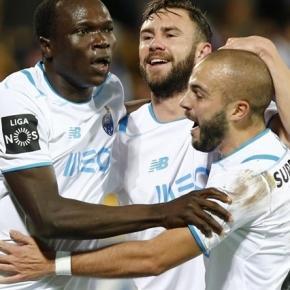 Aboubakar a festejar o golo do empate