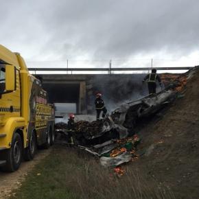 Autoridades espanholas removem os destroços