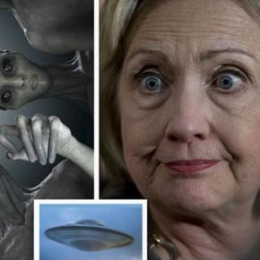 Hillary Clinton vorbeste despre extraterestri