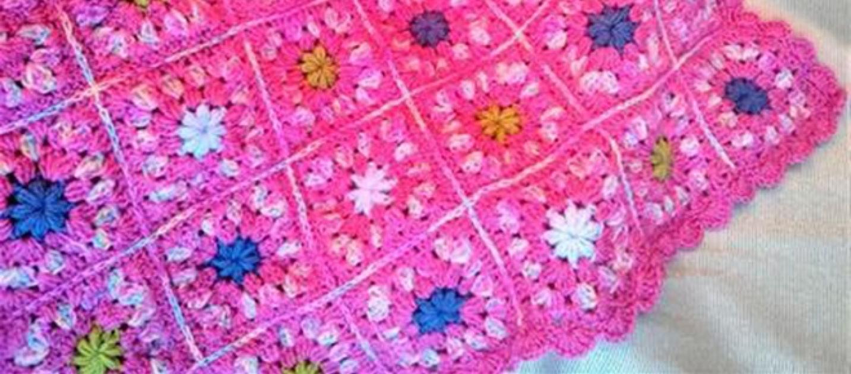 C mo tejer f cilmente a crochet una manta o cobija para el - Como tejer mantas al crochet ...