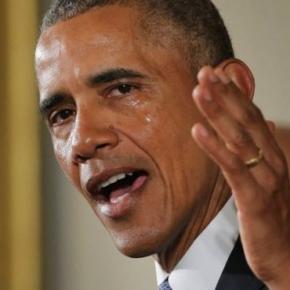 Barack Obama a izbucnit în lacrimi
