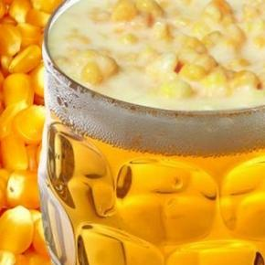 Cerveja vendida no Brasil troca cevada por milho