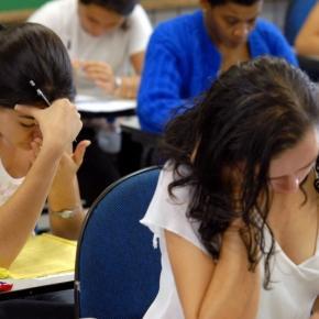 Estudantes fazem ENEM - Foto/Divulgação: MEC