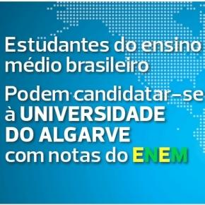 Universidade do Algarve aceite ENEM 2016