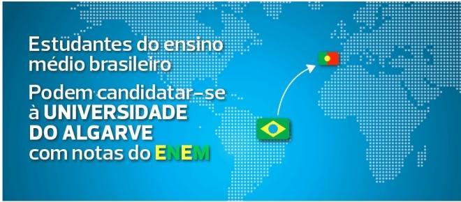 Universidade do Algarve aceita candidaturas de estudantes brasileiros