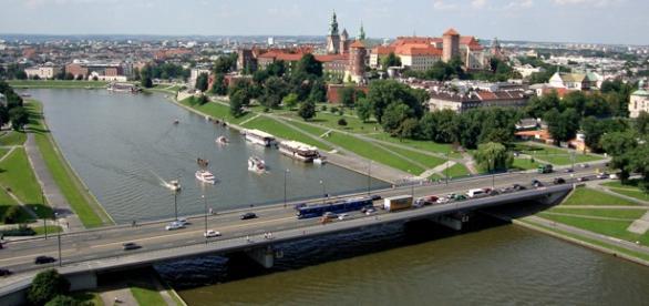 Kraków niestety nie zawsze wygląda równie pięknie.