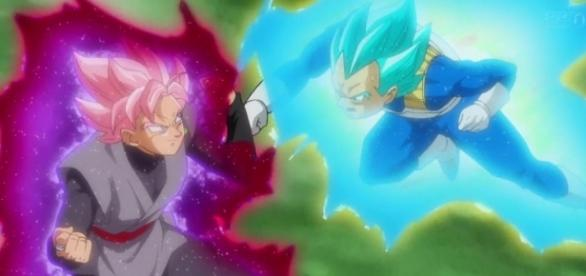Black Goku (Zamasu) contra Vegeta