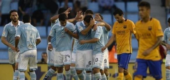 Na época passada, o Celta venceu o Barça nos Balaídos por 4-1