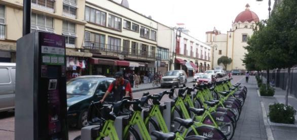El sistema de transporte ha adoptado en Toluca la política de la bice pública en el centro