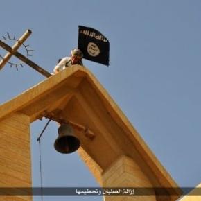 Islamic State Destroys Assyrian Churches - greedbegone.com