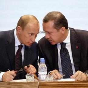 Surprinzătoare apropiere între Vladimir Putin și Recep Erdogan pe fondul creșterii tensiunilor dintre Rusia și Occident - Foto: Getty Images
