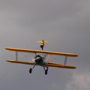 wing walking - https://upload.wikimedia.org