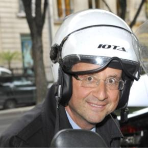 François Hollande en scooter (affaire Gayet)